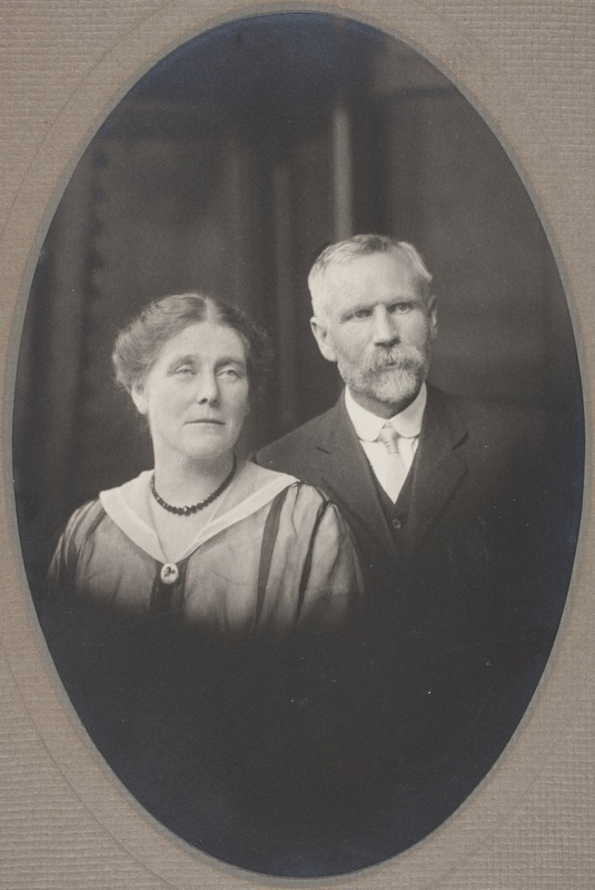Sarah Saunders Page and Samuel Page