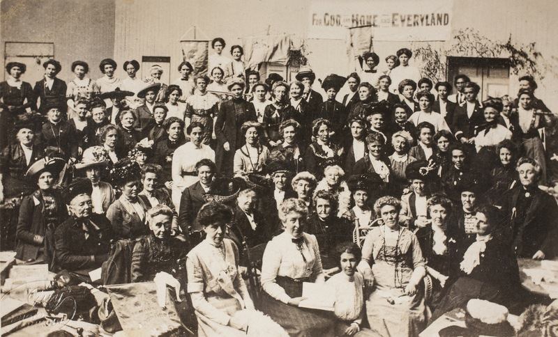 Delegates attending the NZWCTU's national convention in Dunedin, 1912