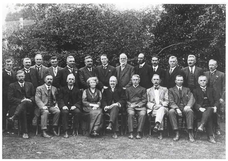 The board of the Christchurch Technical College, 1917.